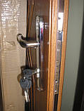 Вхідні двері з Ковкою броньовані в часний будинок БЕЗКОШТОВНА ДОСТАВКА, двери входные 1,20 на 2,05, фото 5