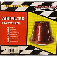Конусный, воздушный фильтр нулевого сопротивления в красном корпусе, фото 1