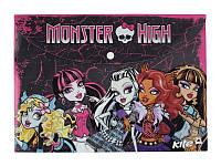 Папка на кнопке, А4 Monster High /12/480/960/