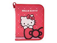 Папка объемная на молнии, В5 Hello Kitty /1/234//