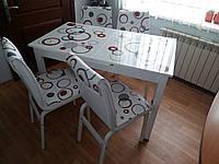 """Комплект стол и стулья для кухни """"Круги"""" (Лотос-М)"""