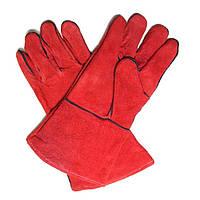 Перчатки КТ для сварки (краги с подкладкой) (72317000) (6 шт./уп.)