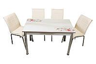 """Комплект стол и стулья для кухни """"Роза"""" (Лотос-М), фото 1"""
