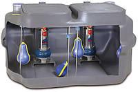 Канализационная станция с двумя насосами SAR 550-MCm 10/50 (550 литров)