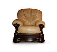 Класичне шкіряне крісло Senator (120 см)