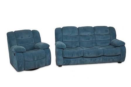 """Комплект м'яких меблів в тканини """"Манхеттен"""" (3р + 1р), фото 2"""
