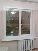 Двухчастное поворотно-откидное окно Кённинг 5 кам 1300*1400