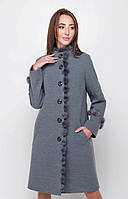 Пальто  женское кашемир утепленное ЗИМА