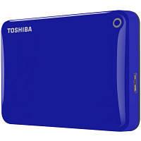 "Накопитель внешний HDD 2.5"" USB 2.0TB Toshiba Canvio Connect II Blue (HDTC820EL3CA)"