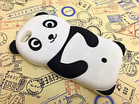 Резиновый 3D чехол для iPhone 6 / 6S Панда
