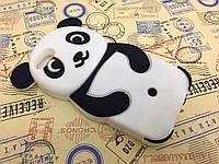 Резиновый 3D чехол для iPhone 5/5S Панда