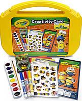 Набор для творчества в чемодане с миньонами Crayola Оригинал из США