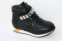Демисезонная обувь детская. Ботиночки на девочек от фирмы Meekone H2215-1 (8пар, 27-32)