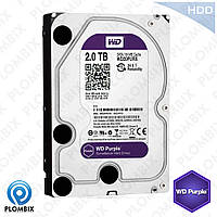 АКЦИЯ!!! Western Digital Purple 2TB 64MB WD40PURX 3.5 SATA III
