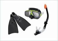 Набор для плавания 55959 (6шт) (маска55981,трубка55924,ласты55935)(8+л