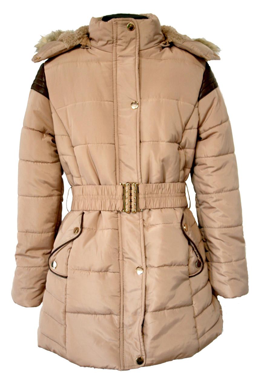 Зимова курточка для дівчинки S&D розмір 6-16 років