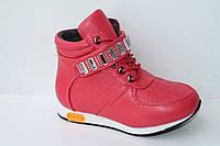Демисезонная обувь детская. Ботиночки на девочек от фирмы Meekone H2215-3 (8пар, 27-32)