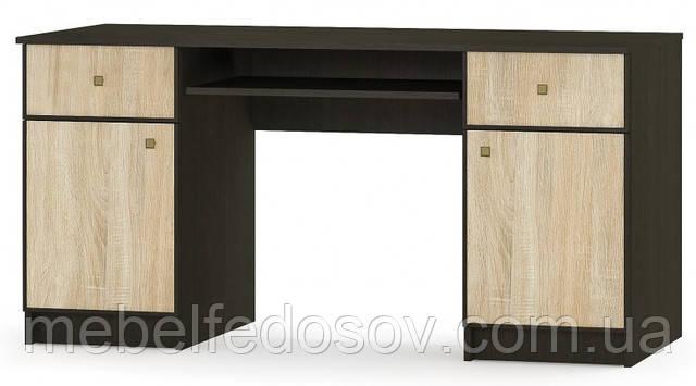 Фантазия; стол 2Д/2Ш (Мебель Сервис)