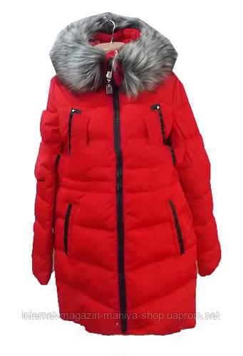 Куртка женская искусственный мех зима