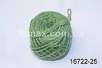 Акриловая пряжа Зеленый