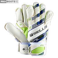 Вратарские перчатки Sells Terrain GK Gloves White Lime