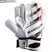 Вратарские перчатки Sells Supersoft 4 White Red