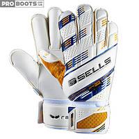 Вратарские перчатки Sells Wrap Breeze GK Gloves White Gold