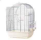 Клетка для среднего попугая ELISABETH 2 ZINC 45*32*64, фото 2
