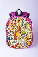 Рюкзак дошкольный для девочки Обезьянка.