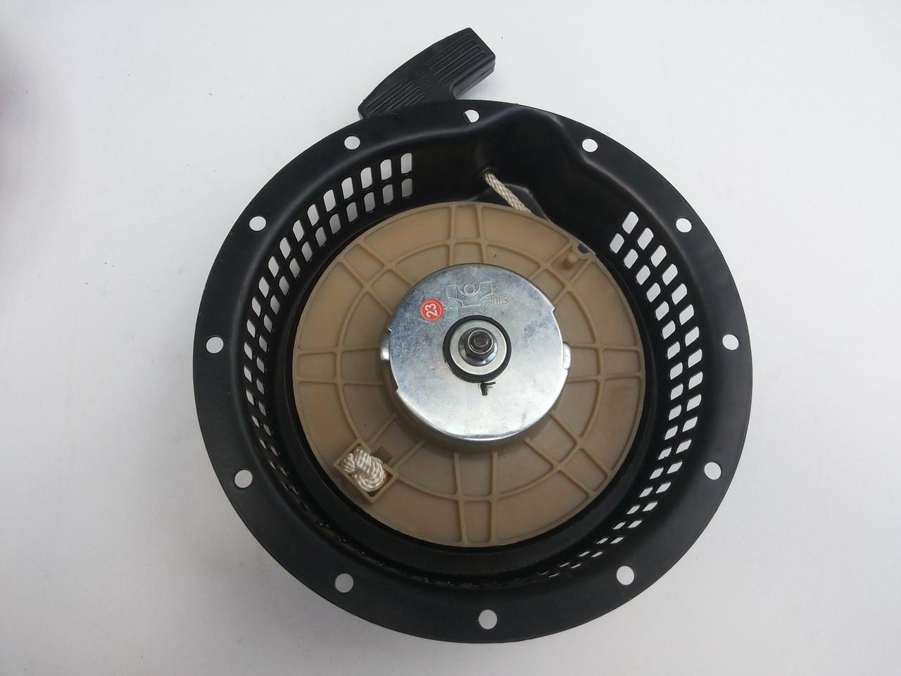 Стартер в сборе для дизельных мотоблоков. Наружный диаметр 23 см.