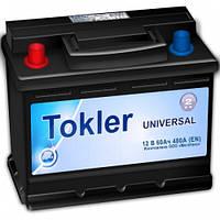 Аккумулятор автомобильный Tokler 6СТ-60 Аз Universal