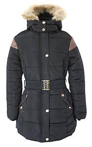 Зимова курточка для дівчинки S&D розмір 8-16 років