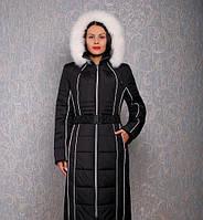 Шикарное зимнее пальто больших размеров Милана макси, распродажа остатков