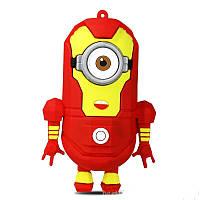 Внешний аккумулятор Миньон Железный человек 8800mah (Minion Iron Man Power bank)