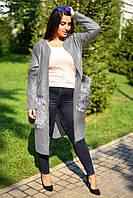 Пальто женское батал в расцветках 11605, фото 1