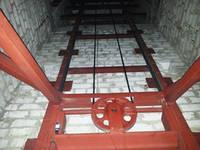 Лифт (подъёмник) грузовой. Установка электрического подъёмника в готовую кирпичную шахту.