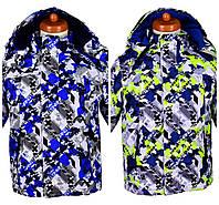 Демисезонная куртка для мальчика в военном стиле