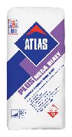 Белый, толстослойный деформируемый клей S1 (4-20 мм)  тип C2E S1  ATLAS PLUS MEGA BIAŁY
