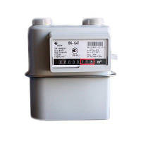 Бытовой газовый счетчик Elster BK-G 2,5 мембранный: 0,025-4 м³/ч, 50 кПа, 212х196х155 мм