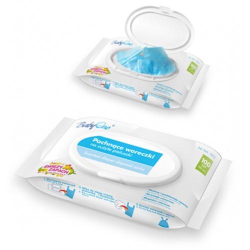 Пакеты ароматизированные для подгузников (100 шт) BabyOno  - Моя малышка в Луцке