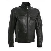 Куртка мото Segura Brooke кожа черная, 3XL
