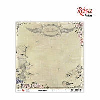 "Бумага для скрапбукинга ""Charmed garden"" 5, 30,5 * 30,5см, 180г / м2 ТМ ROSA Talent (481801-5)"