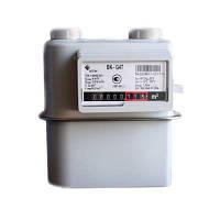 Газовый счетчик ВК G4 мембранный: циклический V 1,2 дм³, P max 50 кПа, 0,016-6 м³/ч, -36 +60 °C