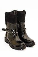 Ботиночки женские черные 069 (33-38)