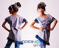 Детская футболка-туника Микки Маус
