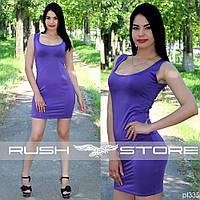 Облегающее летнее мини платье