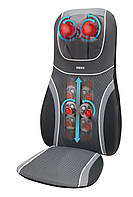 Массажная накидка HoMedics SensaTouch 3D Shiatsu с прогревом 2в1, 3D массажем шеи и пружинной технологией