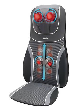 Массажная накидка HoMedics SensaTouch 3D Shiatsu с прогревом 2в1, 3D массажем шеи и пружинной технологией, фото 2