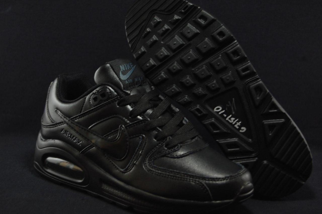 Підліткові чорні кросівки в стилі Nike Air Max 90