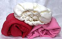 Чехол на кушетку флисовый  100х220см  Розовый